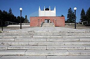 Building Of Crematorium Royalty Free Stock Photo - Image: 15485265
