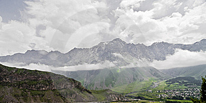 Mountain Above The Clouds Stock Images - Image: 15486084