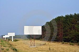 Advertising Banner Stock Photo - Image: 15486510