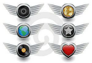 Icons Royalty Free Stock Images - Image: 15487369