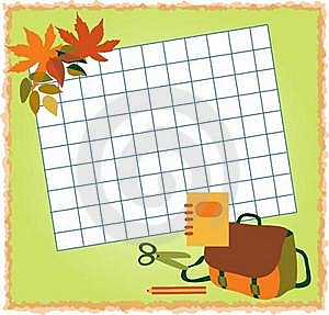 Colored Paper And Pens, Back To School Background Stock Photos - Image: 15490143