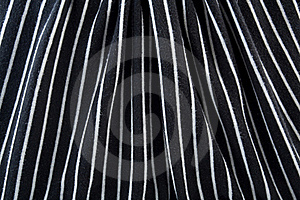 Black & White Striped Fabric Stock Photography - Image: 15494522