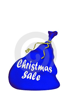 Bag Santa Stock Image - Image: 1553251