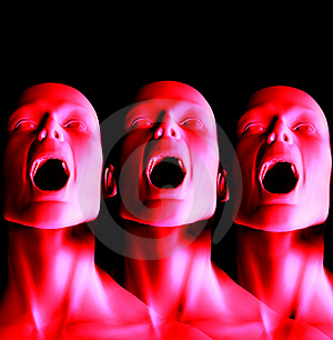 Screaming 17 Royalty Free Stock Images - Image: 1557919