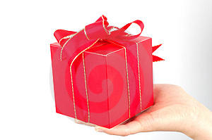Gift #6 Royalty Free Stock Image