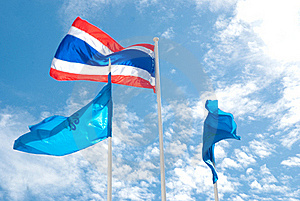 Thai Flag Stock Image - Image: 15500021