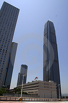 Hong Kong Central Business District Royalty Free Stock Photos - Image: 15500368