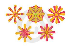 Floral Design Patterns Stock Images - Image: 15502044