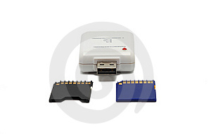 Memory Card Adapter Royalty Free Stock Images - Image: 15502569