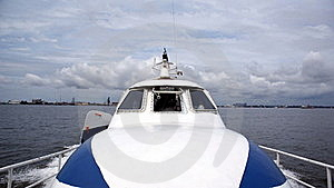 Express Boat Royalty Free Stock Photography - Image: 15504617