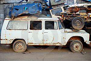 Old Abandoned Car Stock Photos - Image: 15506803