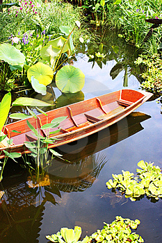 Wooden Boat Royalty Free Stock Image - Image: 15507836