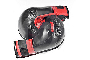Boxers Gloves Isolated Stock Photography - Image: 15508502