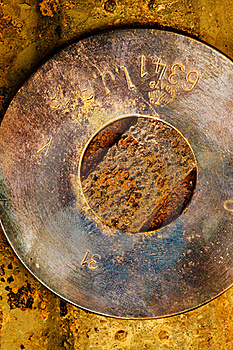 Grungy Metal Background Stock Photo - Image: 15510200