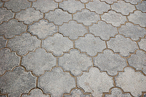 Pavement Tiles Royalty Free Stock Photos - Image: 15512468