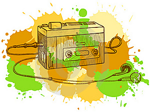 Tape Recorder Royalty Free Stock Images - Image: 15512889