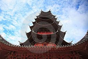 Chinese Buddhist Pagoda Royalty Free Stock Image - Image: 15513536
