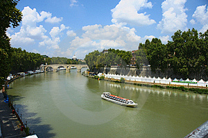 Tiber River Stock Images - Image: 15513774