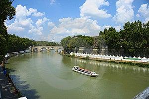 Tiber-Fluss Stockbilder - Bild: 15513774