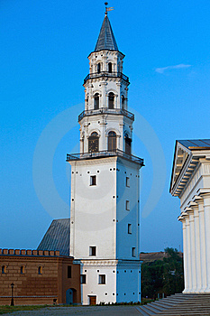 Neviansk Tower- Leaning Tower Royalty Free Stock Photos - Image: 15514298