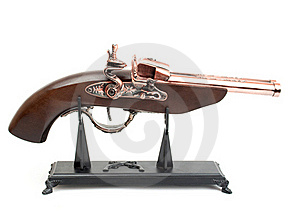 Souvenir Pistol Royalty Free Stock Images - Image: 15515219