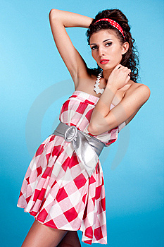 Glamour Girl Stock Images - Image: 15515434