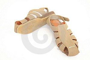 Women Is Shoes Royalty Free Stock Photos - Image: 15516388