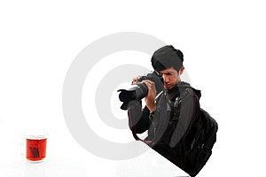 Man With Camera Stock Photos - Image: 15521353