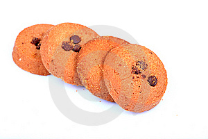 Choco Chip Cookies Stock Photo - Image: 15522580
