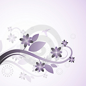 Purple Flowers Background Royalty Free Stock Image - Image: 15524246