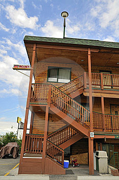 Exterior Of Motel Stock Image - Image: 15526481