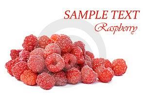 Fresh Raspberry Isolated On White Background Royalty Free Stock Photo - Image: 15526685