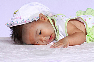 Asia Baby Will Sleep Stock Images - Image: 15531304