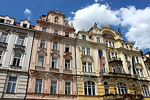 Prague's Beautiful Buildings Royalty Free Stock Photography - Image: 15531547