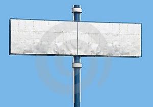 Blank Advertising Billboard Stock Image - Image: 15531891