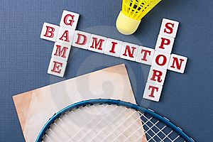 Badminton Royalty Free Stock Images - Image: 15534439