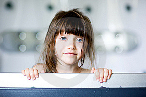 Nice Toddler Girl In Bath Stock Image - Image: 15536141
