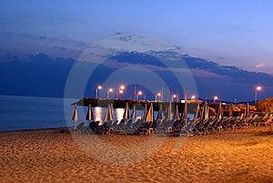 Night Beach Stock Photos - Image: 15537853