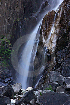 Lower Yosemite Falls Royalty Free Stock Images - Image: 15538779