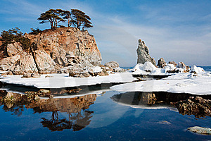 Winter Reflection Royalty Free Stock Images - Image: 15538959
