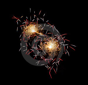 Firework Display Royalty Free Stock Photo - Image: 15539065
