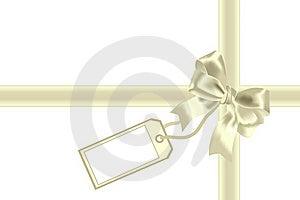 Congratulation And Yellow Bow Stock Photos - Image: 15539703