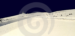 Bedoin In Winter Stock Image - Image: 15540141