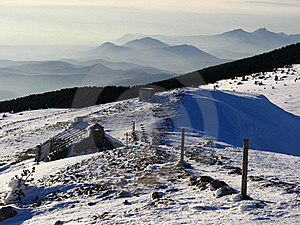 Mont Ventoux In Winter Royalty Free Stock Images - Image: 15540489