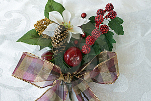 Christmas Bouquet Royalty Free Stock Photo - Image: 15541335