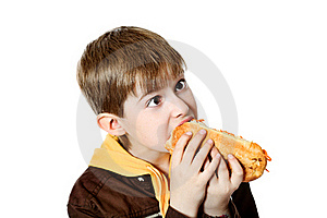 Hungry Boy Stock Images - Image: 15541524