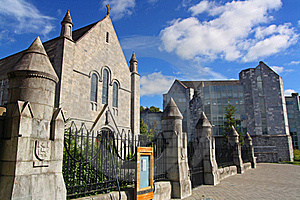 University College Cork Church Royalty Free Stock Images - Image: 15541699