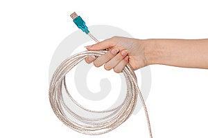 USB Cord Royalty Free Stock Photos - Image: 15542318