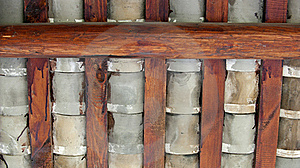 Tile And Roof Beam Stock Photography - Image: 15543342