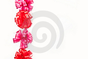 Line From Bows Royalty Free Stock Photo - Image: 15544075